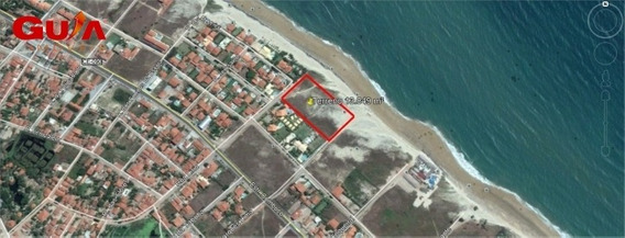 Terreno Na Praia Ideal Para Resort Com 13.849m2 - 1301