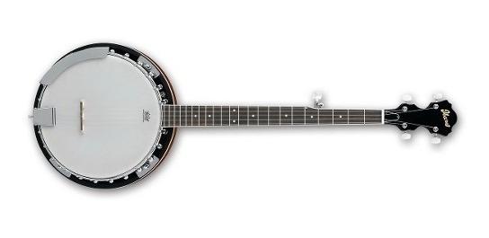 Banjo De 5 Cuerdas Ibanez B50 Cuerpo De Caoba Parche Remo