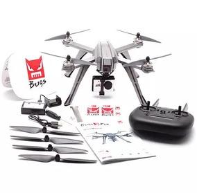 Drone Bugs 3 Pro Cam 12mp 1080p Fpv Gps 22min Voo
