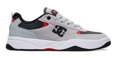 Tênis Dc Shoes Penza Imp Grey Red