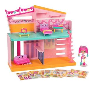 Shopkins Happy Places Casa Completa + Shoppie + Petkins