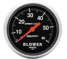 Autometer Blower Sport Comp 60 Psi