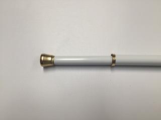 Visillo Blanco Levolor 1.22- 2.18 1.1 Cms Diametro