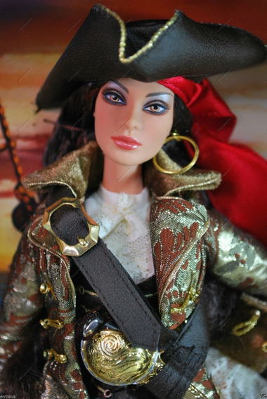 Barbie The Pirate Gold Label-2007-nrfb.