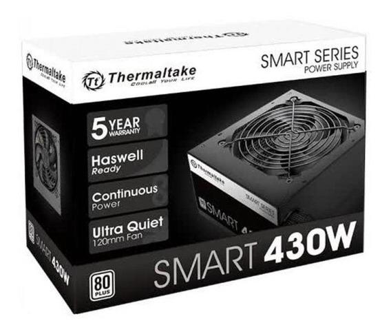 Fonte 430w Thermaltake Smart Atx2.3/a-pfc 80+white