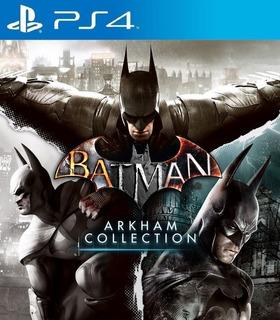 Batman: Arkham Collection Ps4 - Juego Digital-principal