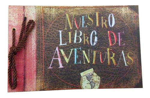 Imagen 1 de 1 de Libro Aventuras Up  Our Adventure Book