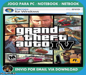 Gta Iv - 4 Pc Jogo Digital