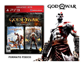 God Of War Cellection Playstation 3 Fisico Sellado Original