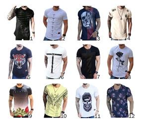 Kit 2 Camisa Longline Camiseta Oversized Blusa Masculin Swag