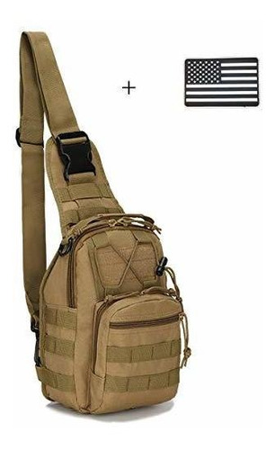 Brand: Dunnta Tactical Sling Bag, Military