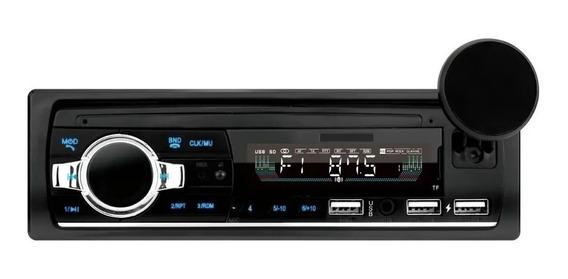 Som Automotivo Rádio Mp3 Usb Bluetooth + Suporte Smartphone