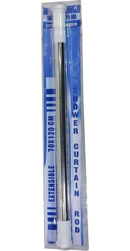 Barrote Extensible Para Ducha C/soporte 110-200cm Inoxidable