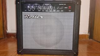Amplificador Roller Rg 35 + Auriculares Stereo Samson Rh300