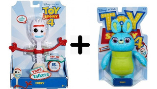 Toy Story 4- Forky Parlante - Mattel
