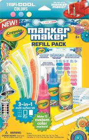 Refil Fábrica De Canetinhas Crayola Cor Pastel