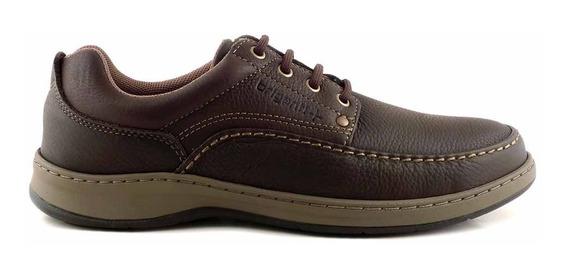 Zapatos Hombre Vestir Cuero Briganti Confort Goma Hcac00942