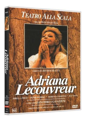 Dvd Francesco Cilèa Adriana Lecouvreur Teatro Alla Scalla