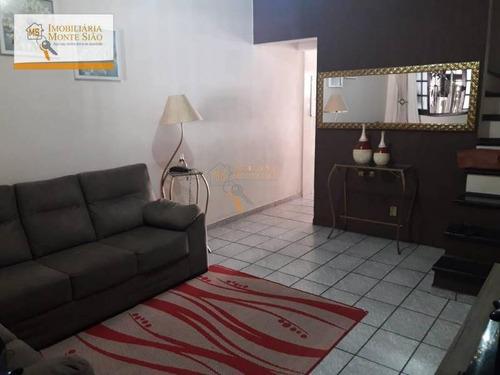 Sobrado Com 2 Dormitórios À Venda, 92 M² Por R$ 339.000,00 - Jardim Santa Maria - Guarulhos/sp - So0066