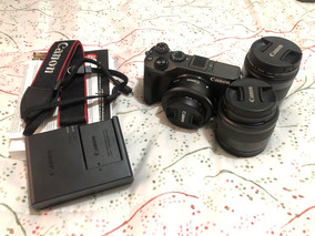 Câmera Fotográfica Mirrorless Canon M6 Com Três Lentes