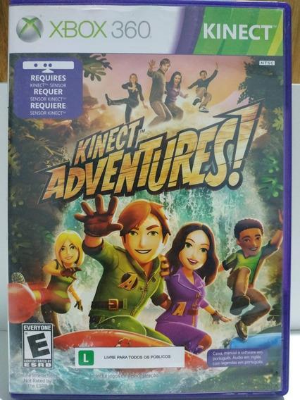 Jogo Kinect Adventures Xbox 360 Original Requer Sensor Kinec