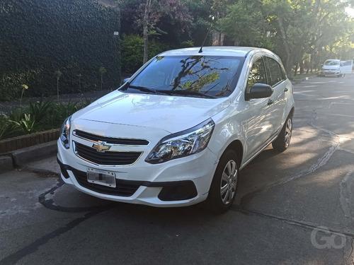 Chevrolet Agile 1.4 Ls 2015 Blanco Único Dueño