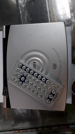 Dvd Player Coby Tf-dvd7100 Para Retirada De Peças Jsa