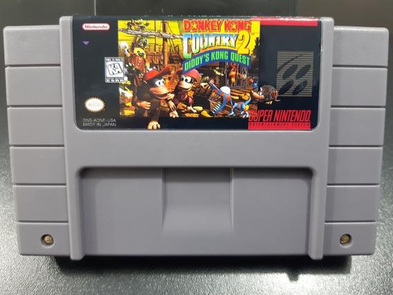 Fitas De Super Nintendo Donkey Kong Country 2