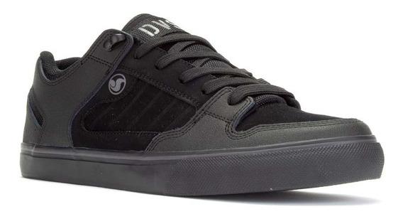 Dvs Militiia Ct 029 Black Charcoal Leather