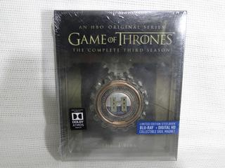 Game Of Thrones Juego Tronos Temporada 3 Steelbook Blu-ray
