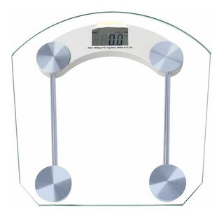 Balanza Digital De Baño Vidrio Hasta 180 Kg Marca Hipocampo