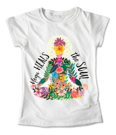 Blusa Namaste Yoga Playera Pilates Fitness Zen #252
