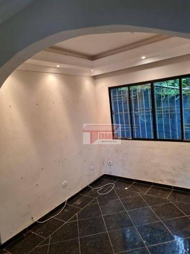 Imagem 1 de 30 de Casa Com 2 Dormitórios À Venda, 100 M² Por R$ 270.000,00 - Parque Andreense - Santo André/sp - Ca0982