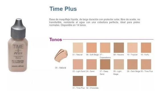 Base Time Plus Monreve Maquillaje