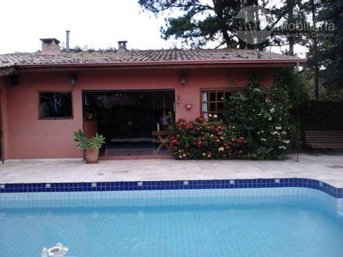 Chácara Com 4 Dormitórios À Venda, 1500 M² Por R$ 1.500.000,00 - Jardim Uirá - São José Dos Campos/sp - Ch0022