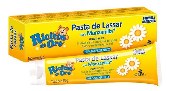 Pasta De Lassar Rosaduras Ricitos De Oro Grisi 60 G