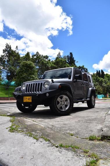 Gran Oportunidad!! Jeep Wrangler Unlimited Gris 5 Puertas