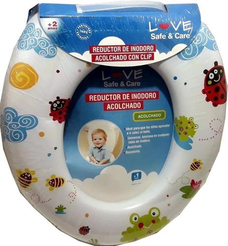 Imagen 1 de 5 de Reductor Adaptador De Inodoro Infantil Acolchonado  Bebe