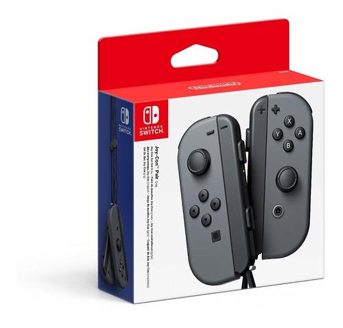 Imagen 1 de 1 de Controles Joy-con Izquierdo & Derecho Gris Nintendo Switch