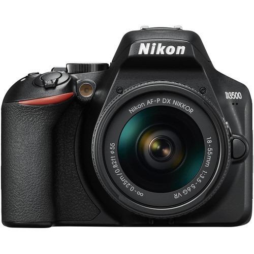 Câmera Nikon D3500 Dslr Com Lente 18-55mm Lançamento
