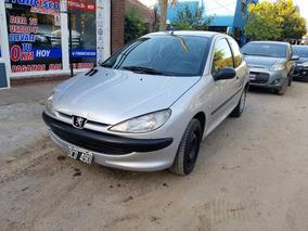 Peugeot 206 Xr 1.4 3 Puertas Full 1° Mano 1999 128.000 Kms
