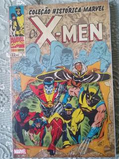 Coleção Histórica Marvel - Os X-men - Volume 01