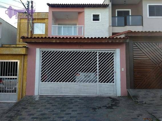 Sobrado Com 3 Dormitórios À Venda, 200 M² Por R$ 590.000,00 - Parque Jaçatuba - Santo André/sp - So0360
