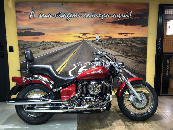 Yamaha Drag Star 650 2008 Com 9200km