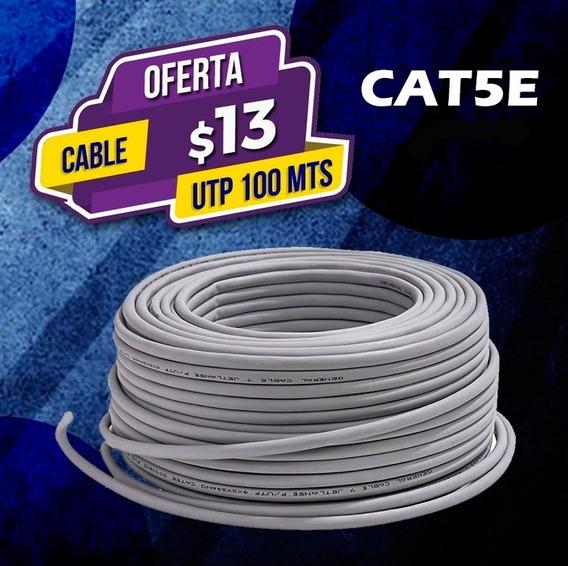 100 Mts De Cable Utp Cat5e Internet/redes/lan