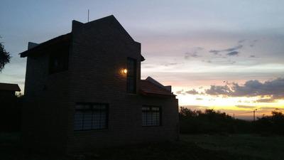 Casa En Terreno 2000 M Carpintería San Luis A 8 Km De Merlo