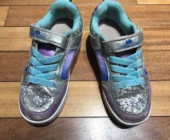 Zapatillas Heelys Importadas Con Rueditas Dobles Nro 32