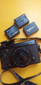 Câmera Fujifilm Xe-1 + Lente Xf 27mm F2.8 Pancake