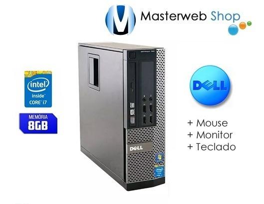 Computador Dell Optiplex 7010 I7 8gb 500hd Monitor 17