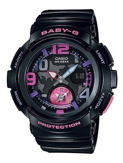 Relógio Baby-g Bga-190-1b (preto)